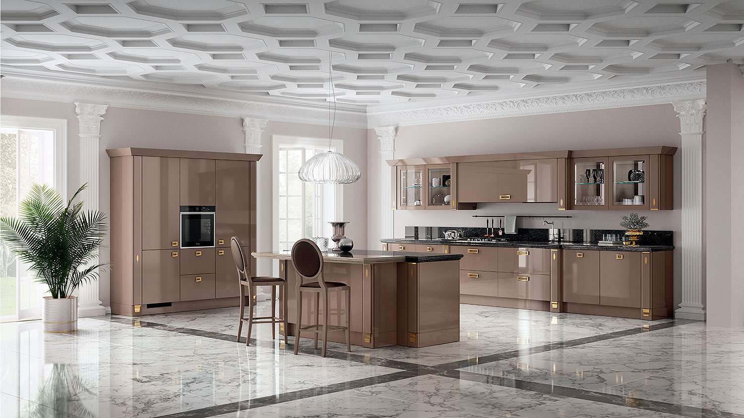 Кухня Scavolini Exclusiva